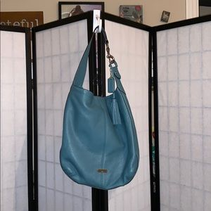 Coach Purse - pristine blue leather